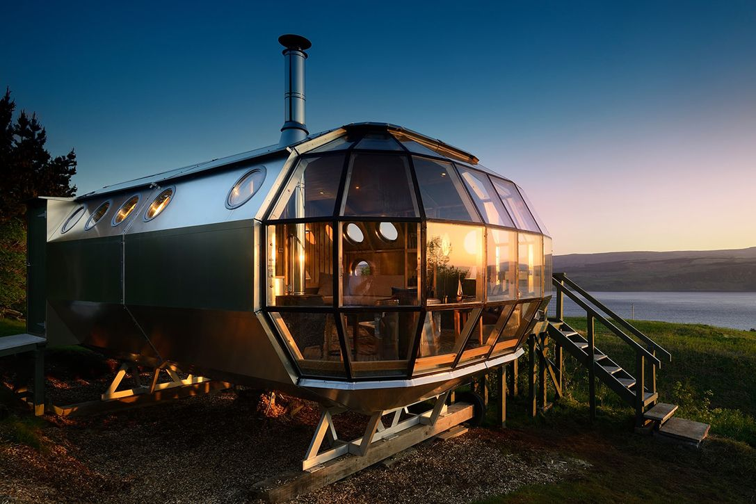 Airship002 Airbnb In Scottish Highlands Glamping