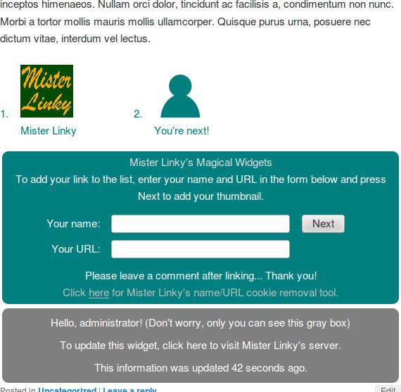 Mr Linky Plugin For Wordpress Wordpress Tutorials Plugins Online Business
