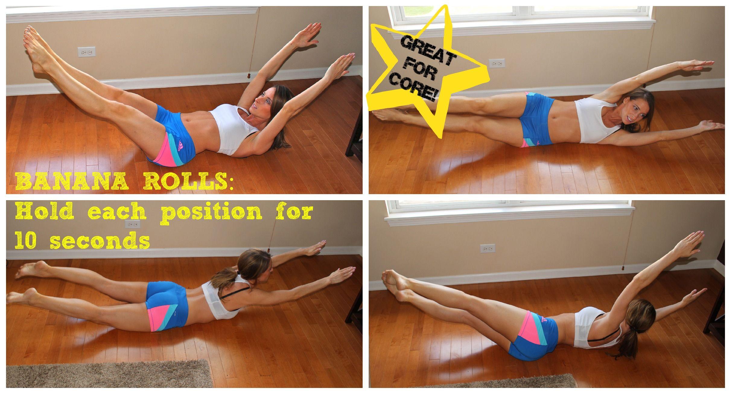 Banana Rolls x 2 Banana roll, Gym tips, Exercise