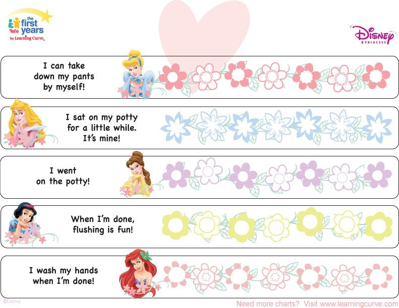 Potty training charts for girls disney princess chart concepts also rh pinterest