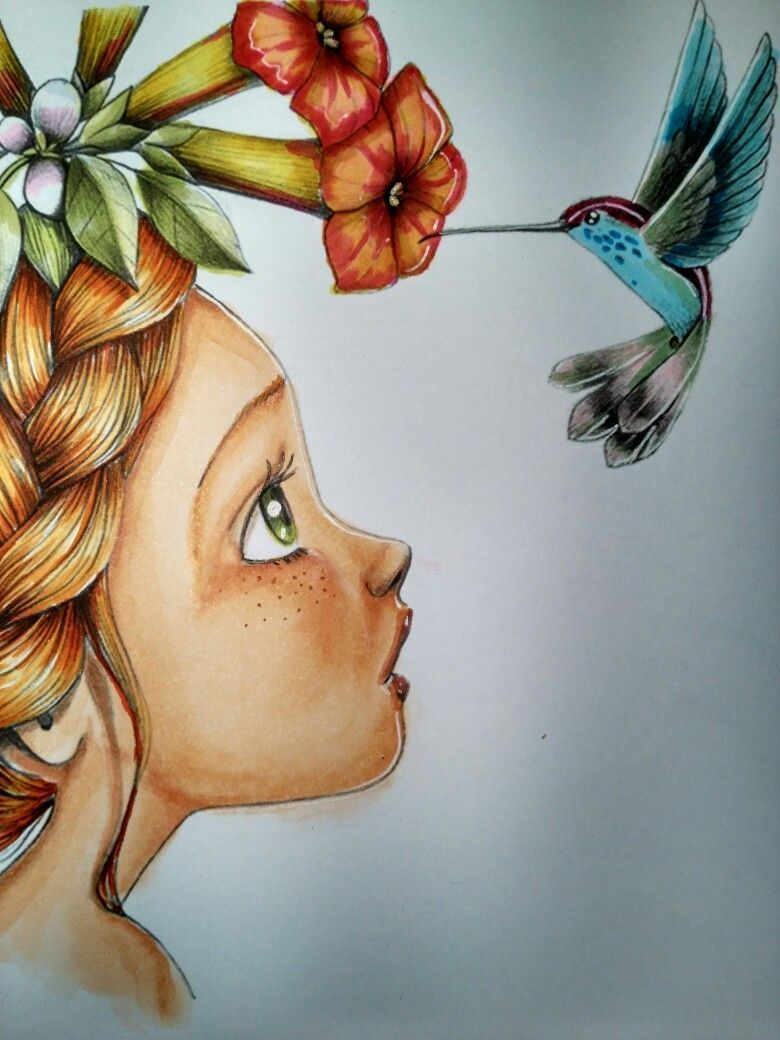 Pin By Colors On Colored Drawings Colorful Drawings Art