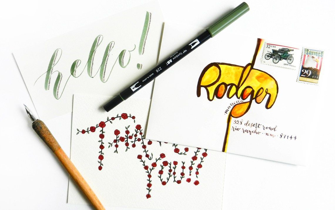 Creative hand lettering tutorials part i hand lettering creative hand lettering tutorials part i the postmans knock baditri Images