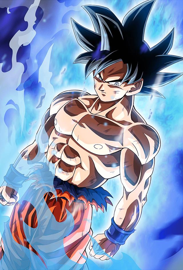 Goku Ultra instinct card [Bucchigiri Match] by Maxiuchiha22 on DeviantArt