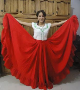 7d4b3be11 falda para danza regional | Where to find materials | Traje de baile ...