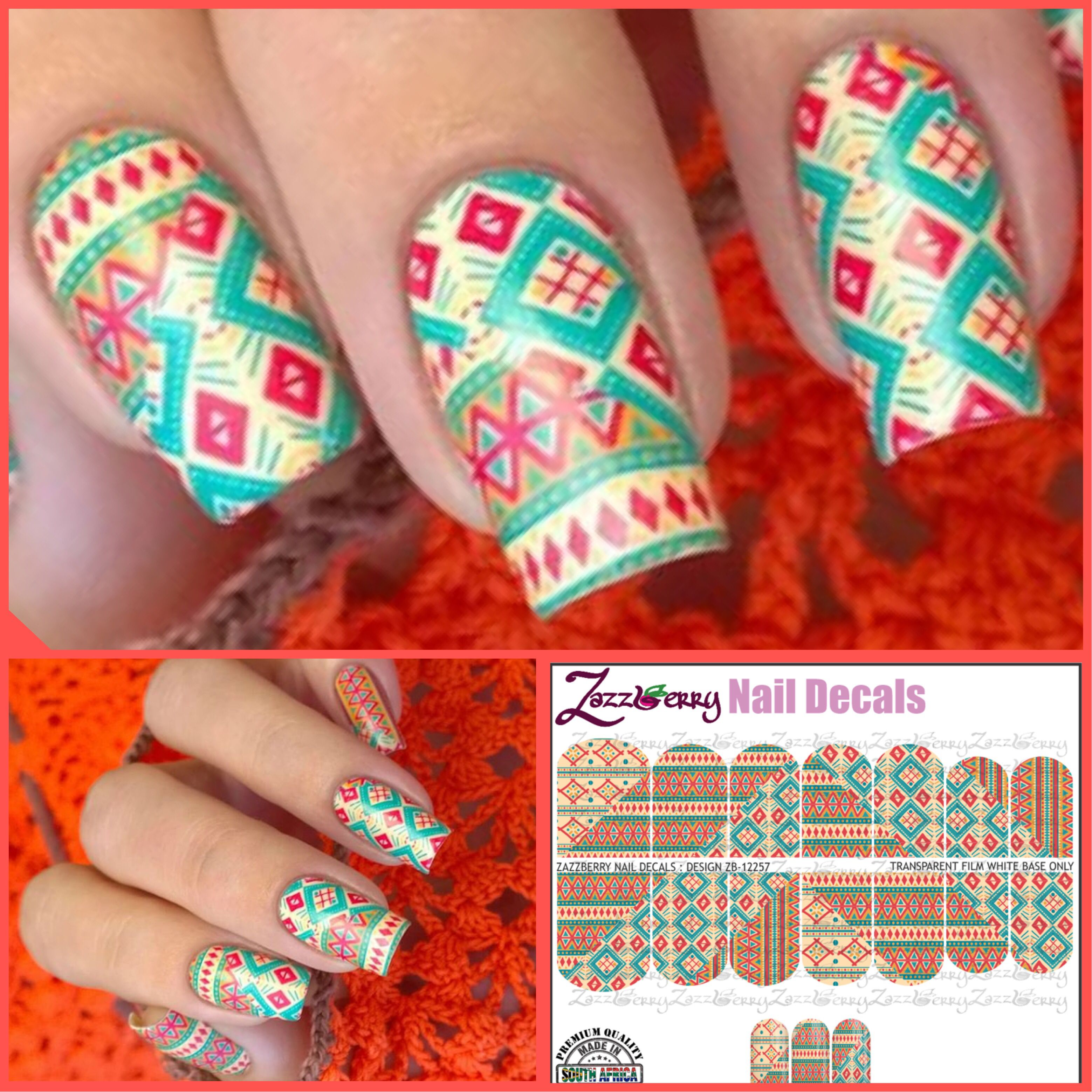 Zazzberry Nail Decals Online Store Nail Decals Nails Decals