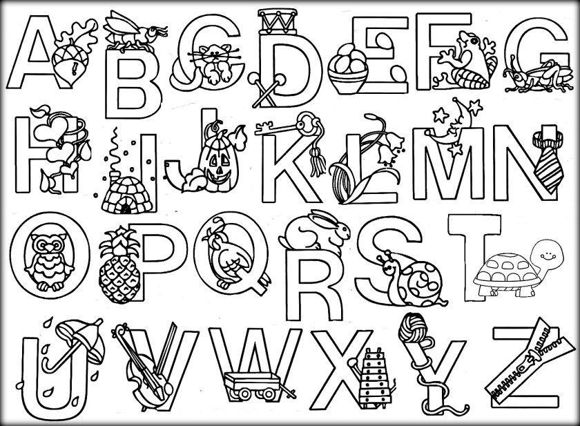 Related Image Alfabeto Para Colorir Paginas Para Colorir Alfabeto Animal