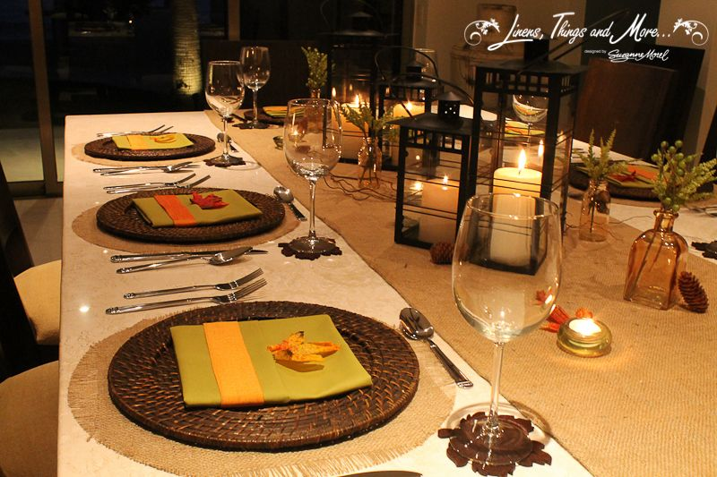 Celebrate Thanksgiving in Style in Los Cabos! A villa rental, a catering company and a fabulous decor!