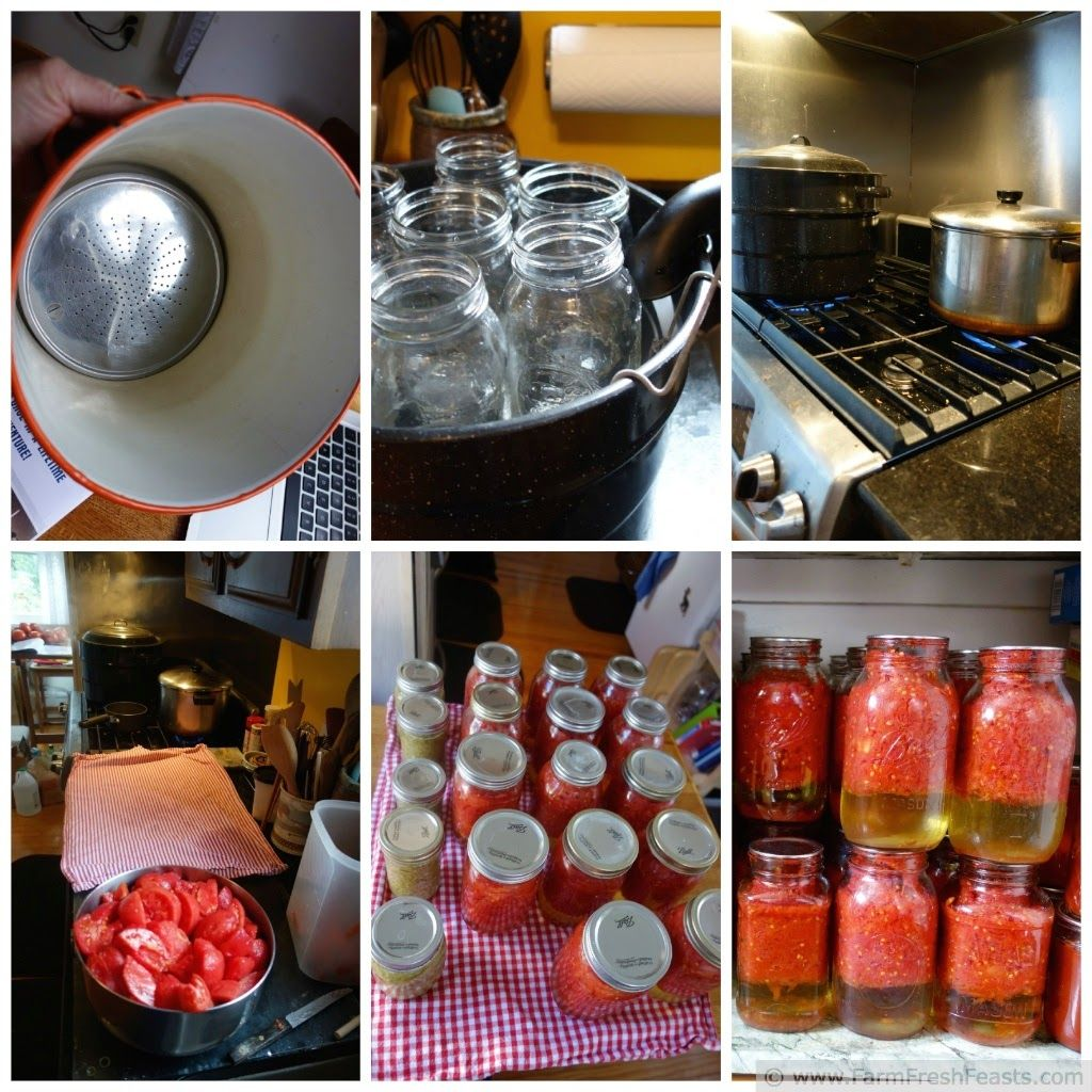 Home-Canned Tomatoes