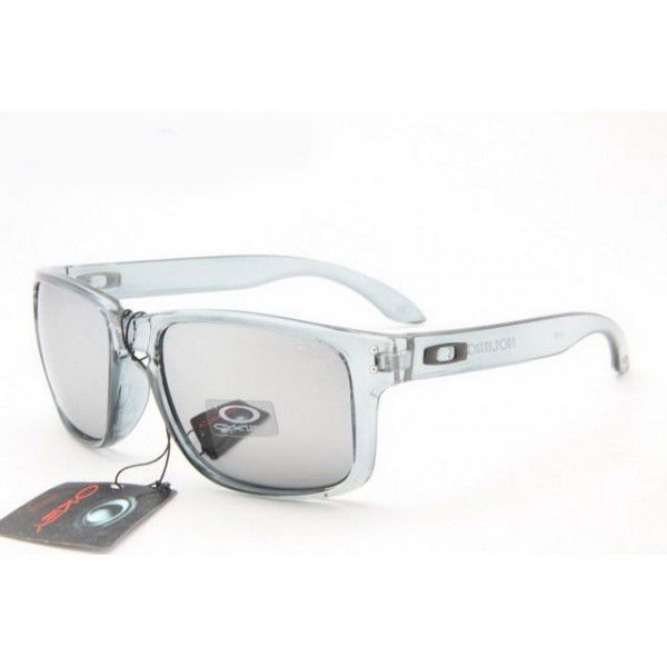 2d1ce0a2ef9  12.99 Fake Oakley Holbrook Sunglasses Clear Grey Frame Smoky Lens Deals  www.racal.org
