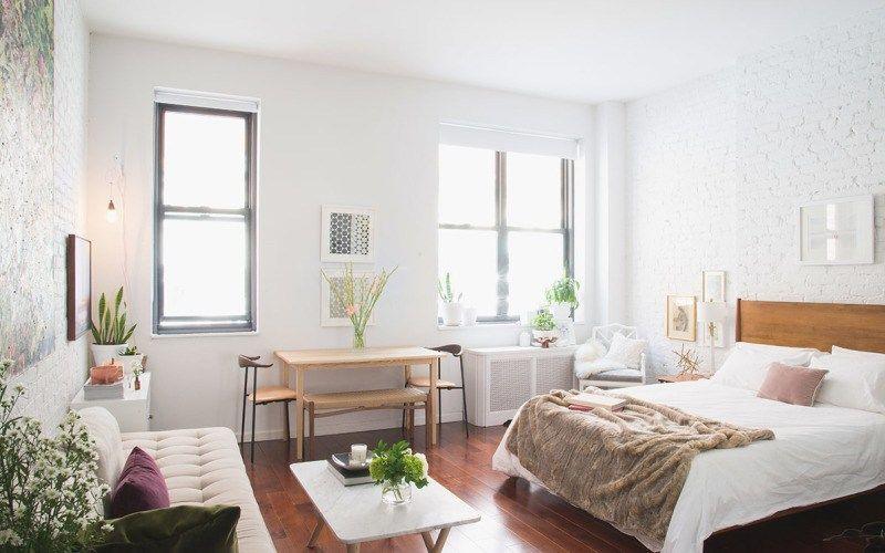 Nyaman Tinggal Di Apartemen Mungil Dekorasi Apartemen Desain