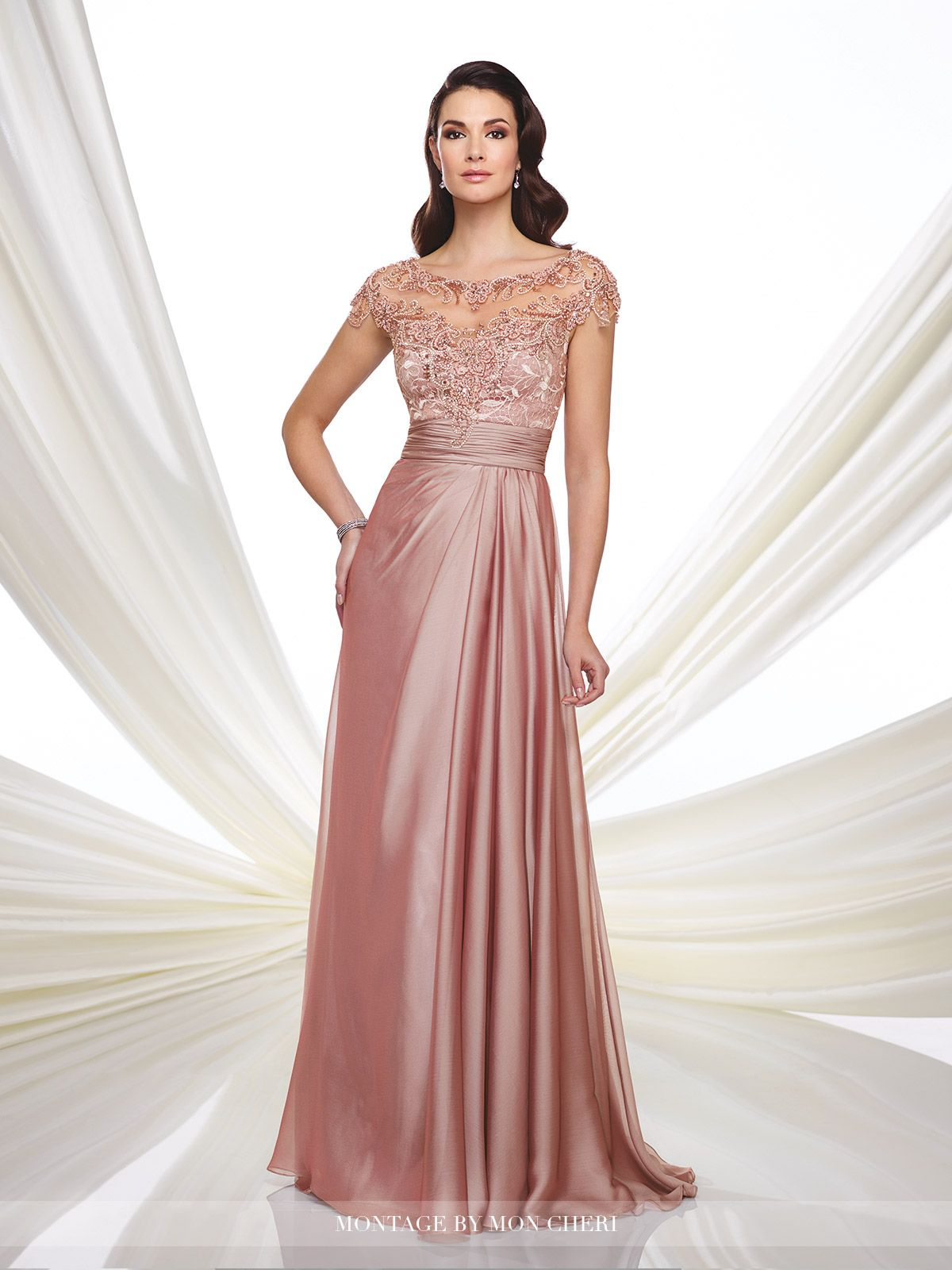 Sophisticated Mother of the Bride Dresses 2018 by Mon Cheri | Bateau ...