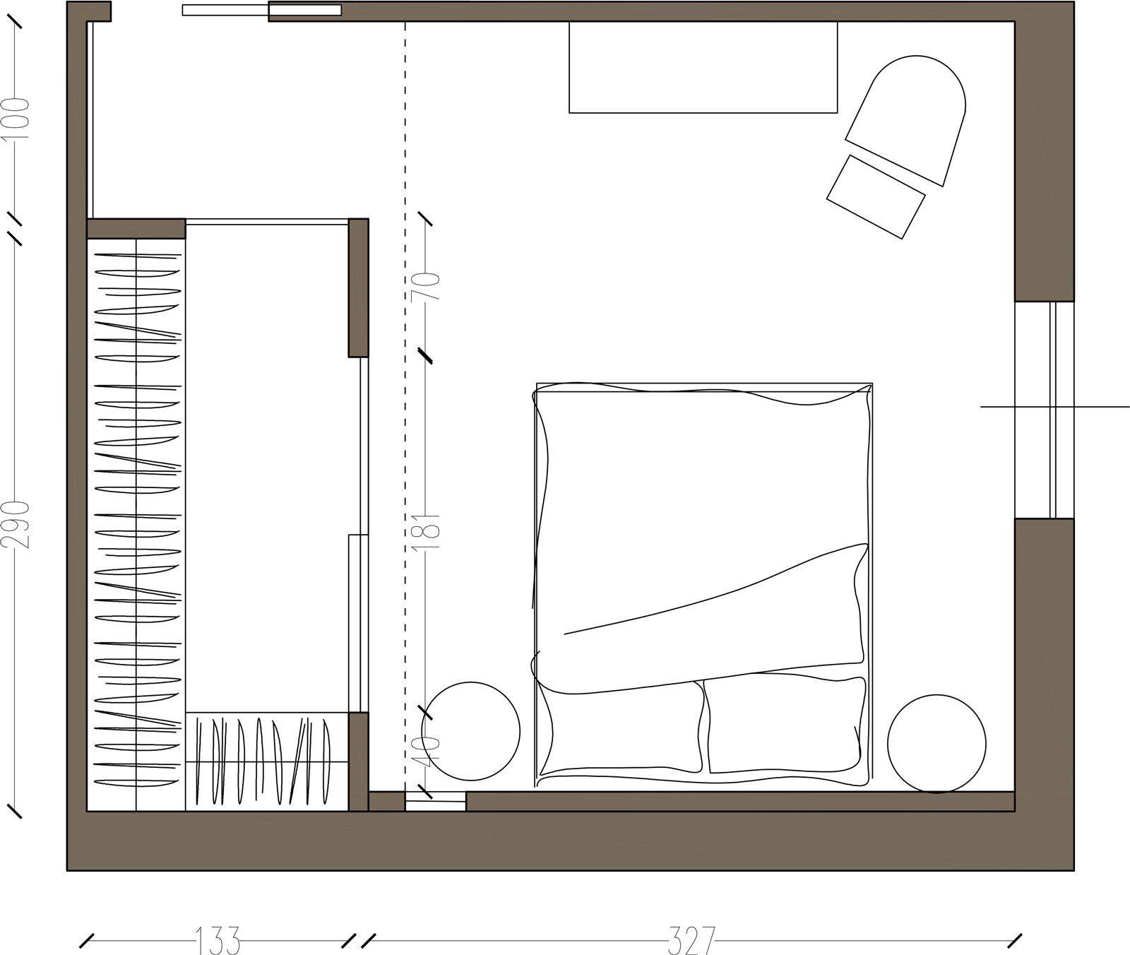 Cabina armadio due soluzioni per ricavarla mikasa pinterest recamara habitacion vestidor - Cabina armadio in camera da letto piccola ...