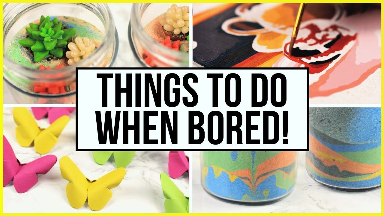 Things To Do When You're Bored At Home & During Summer Holidays! What To... | What to do when ...