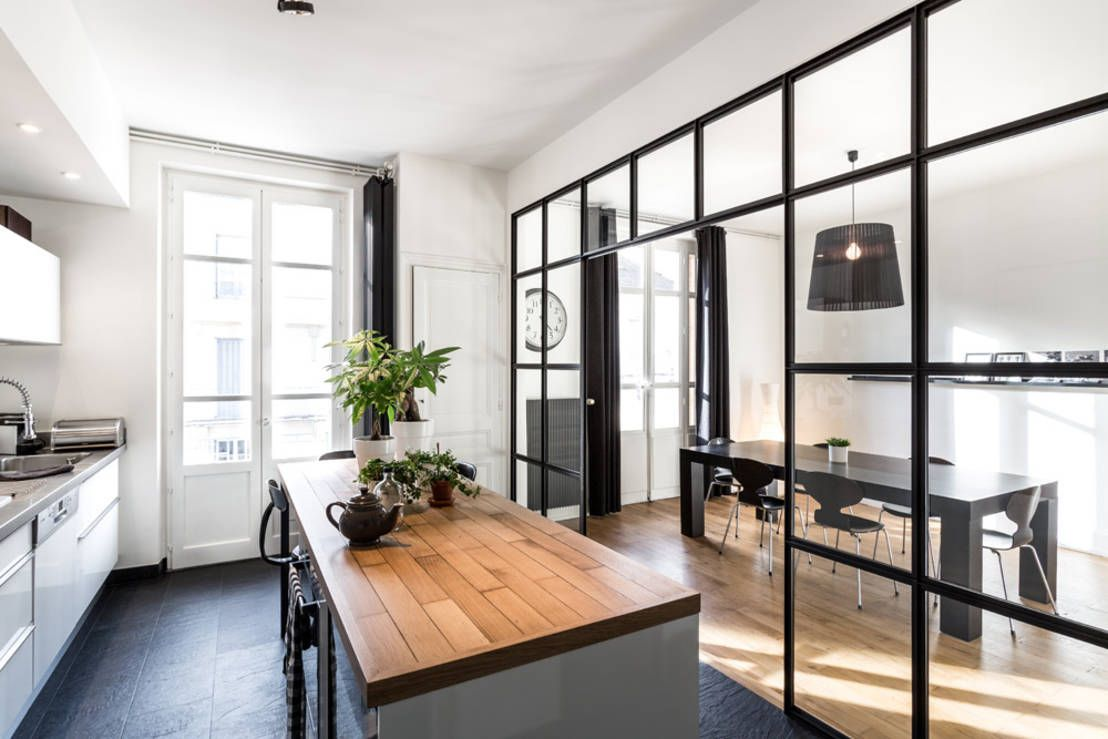 How Can I Separate My Dining Room And Kitchen? | Kitchens, Spaces ...