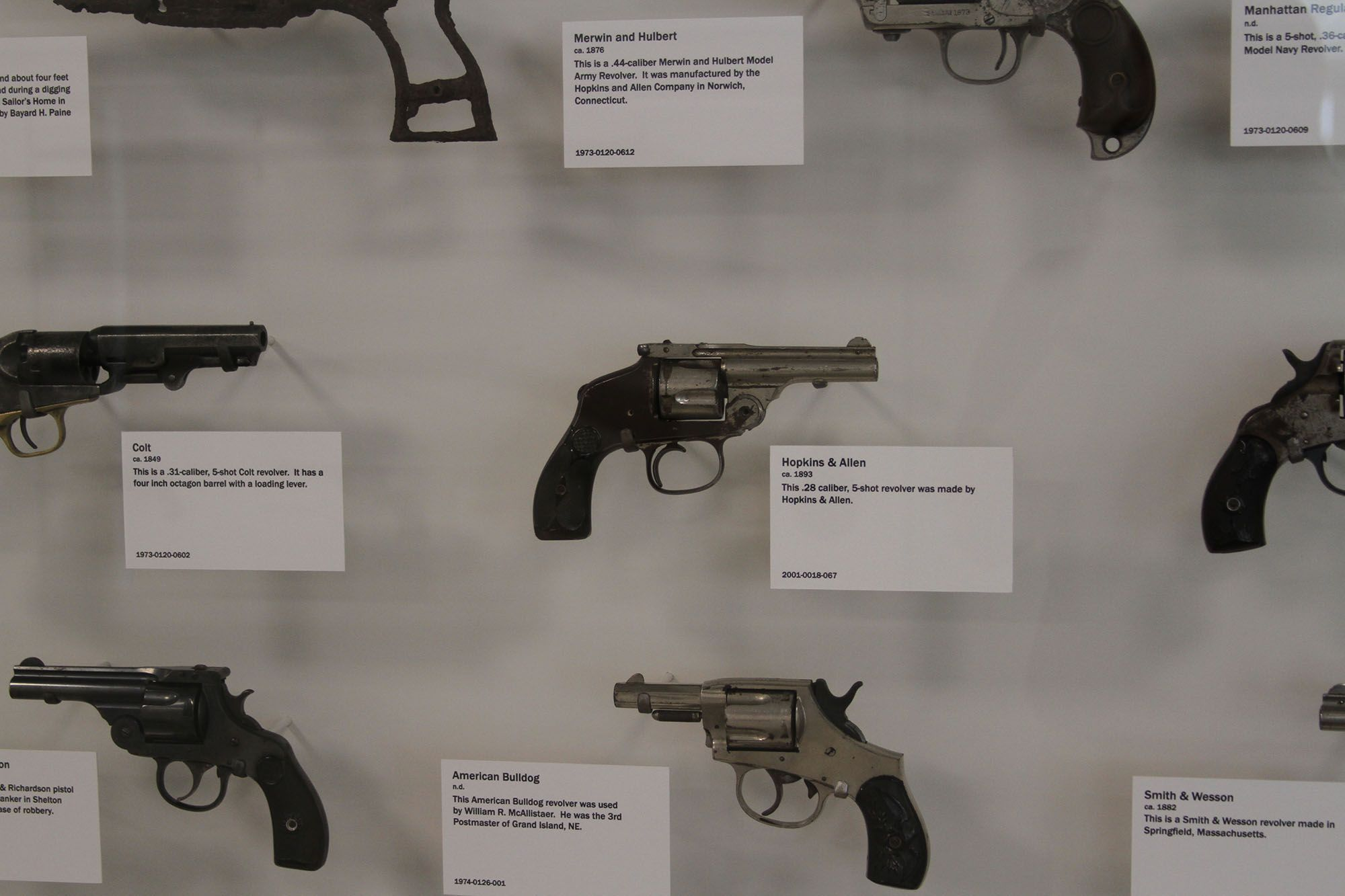 Are you a fan of firearms? We have a fantastic collection