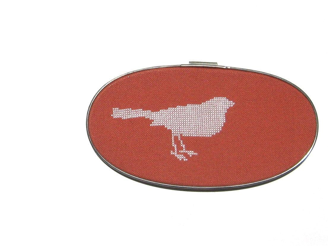 Bird modern cross stitch pattern by wallwork on Etsy, $4.50