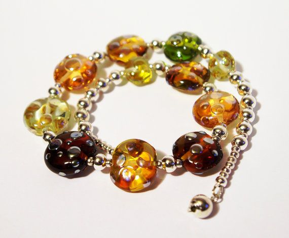 Statement Necklace, SUMMER SALE Glass Necklace, Handmade Glass  Necklace, jcrew necklace, Collar Necklace  SRA