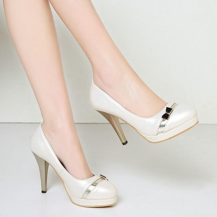 Platform High Heel Thin Heels Shoes