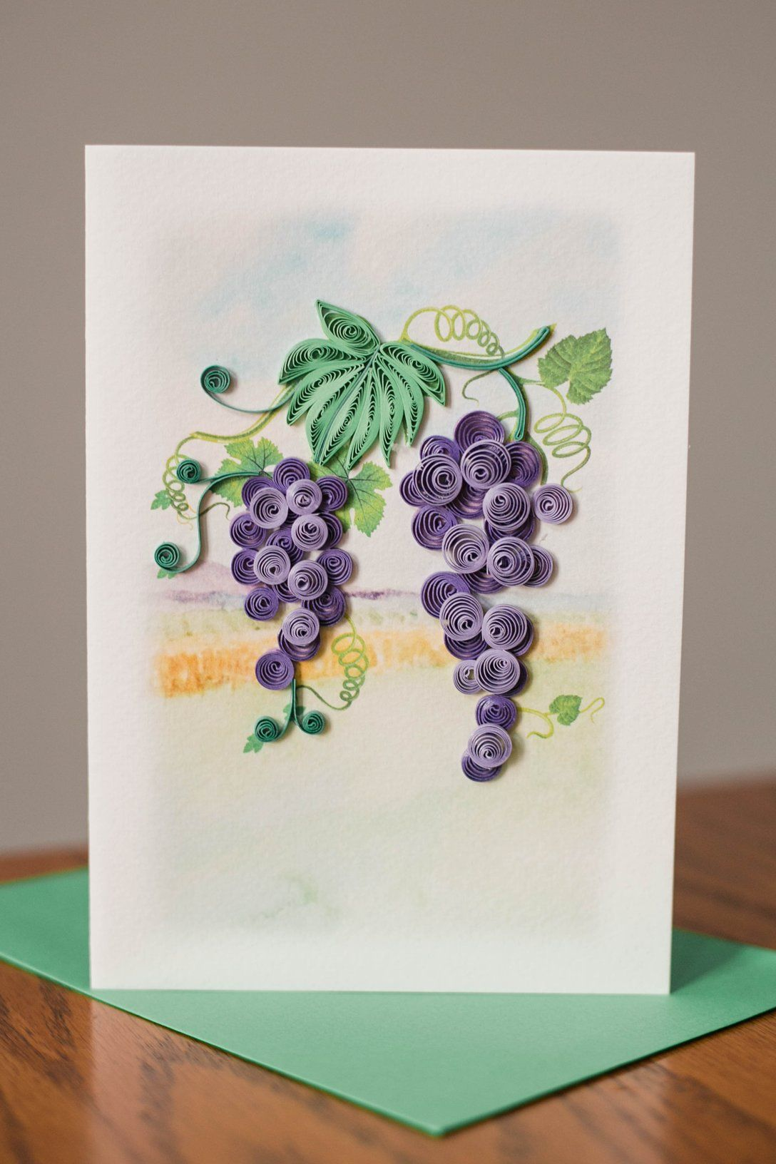 grapes  paper quilling cards quilling designs paper
