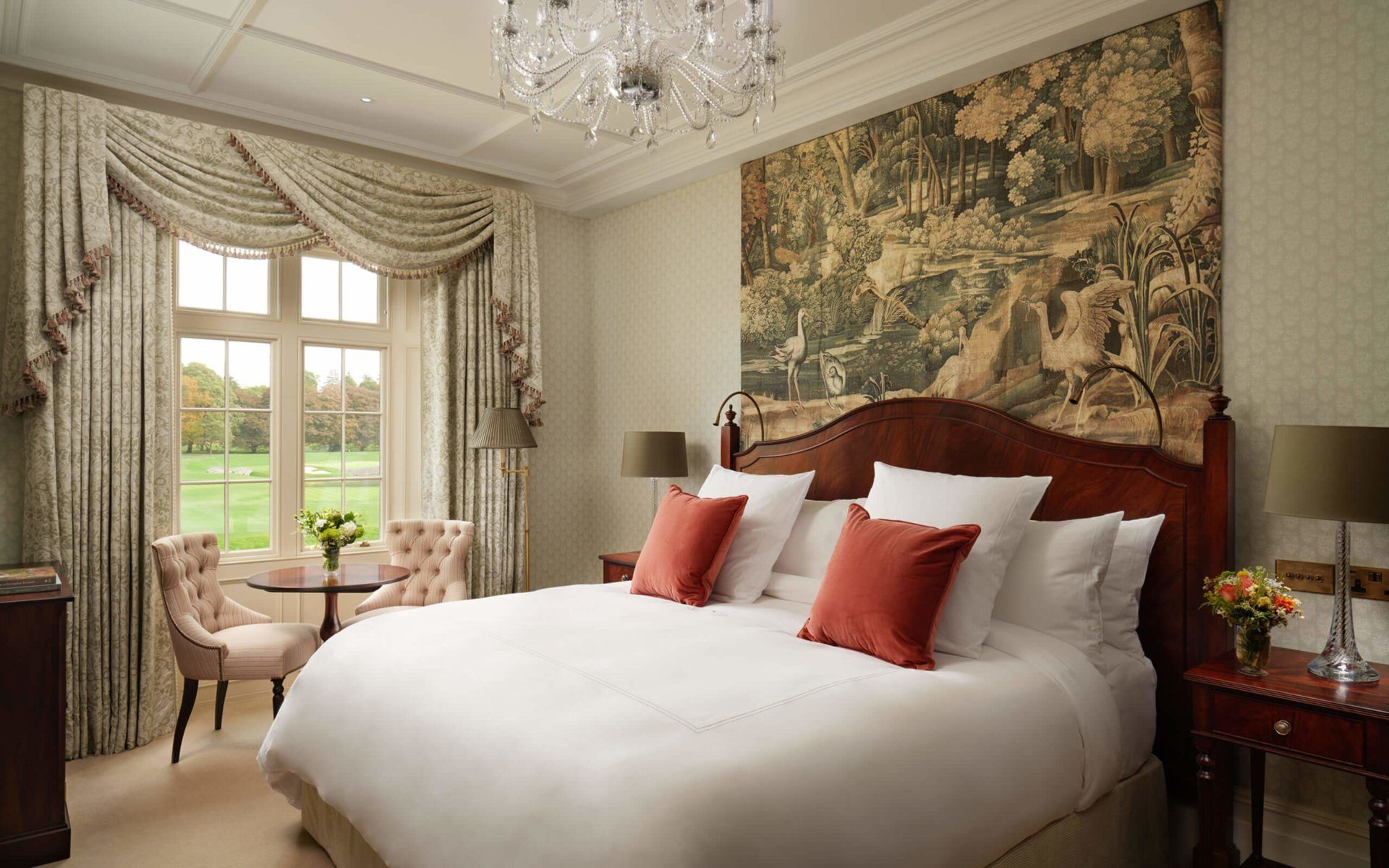 Leave the ordinary life behind in your own charming Adare Manor ...