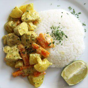 filet de dinde au curry