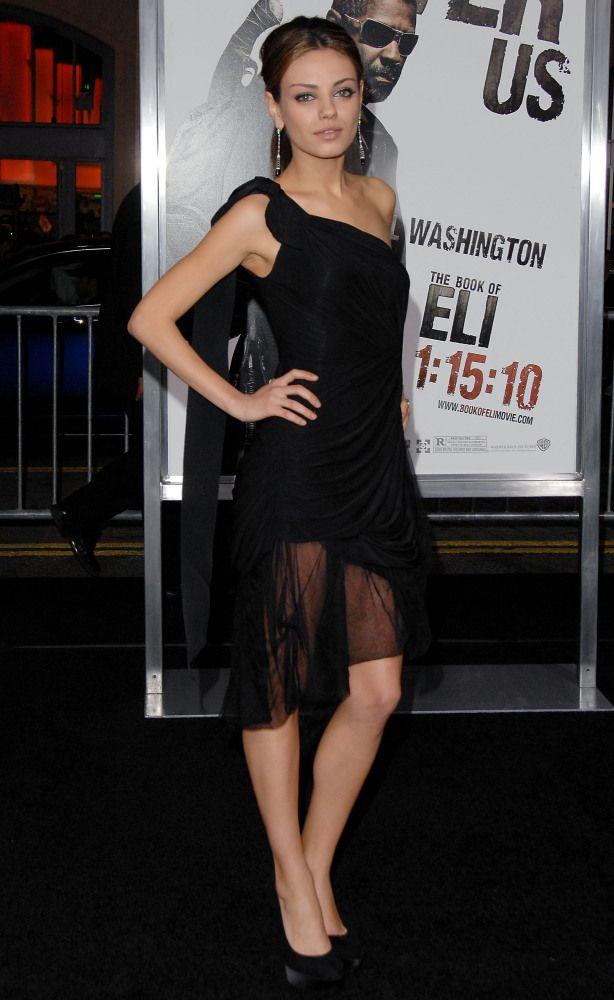 Mila Kunis January 2010 Celebrities Mila Kunis Weight Mila