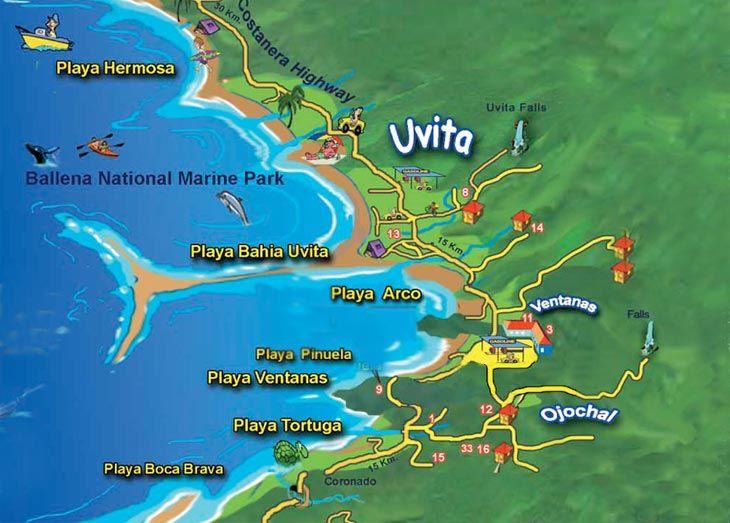 「uvita maps」の画像検索結果