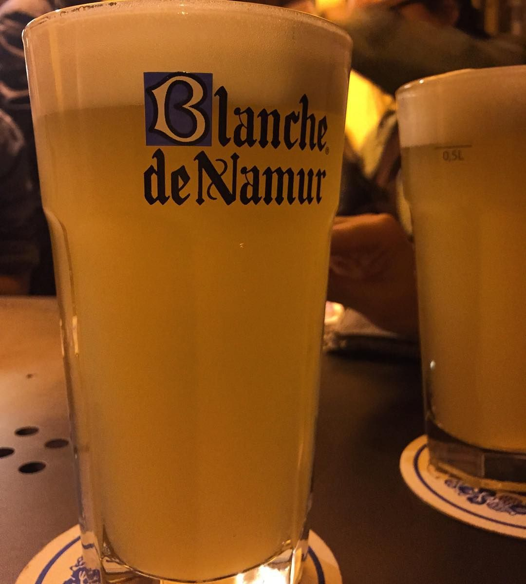 Biondona mia #beer #blanchedenamur #blanche #friends #bologna #saturday by lu1984