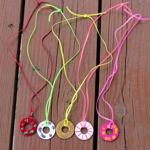 Washer Necklace For My 9 Year Old Daughter To Make Hobby Crafts