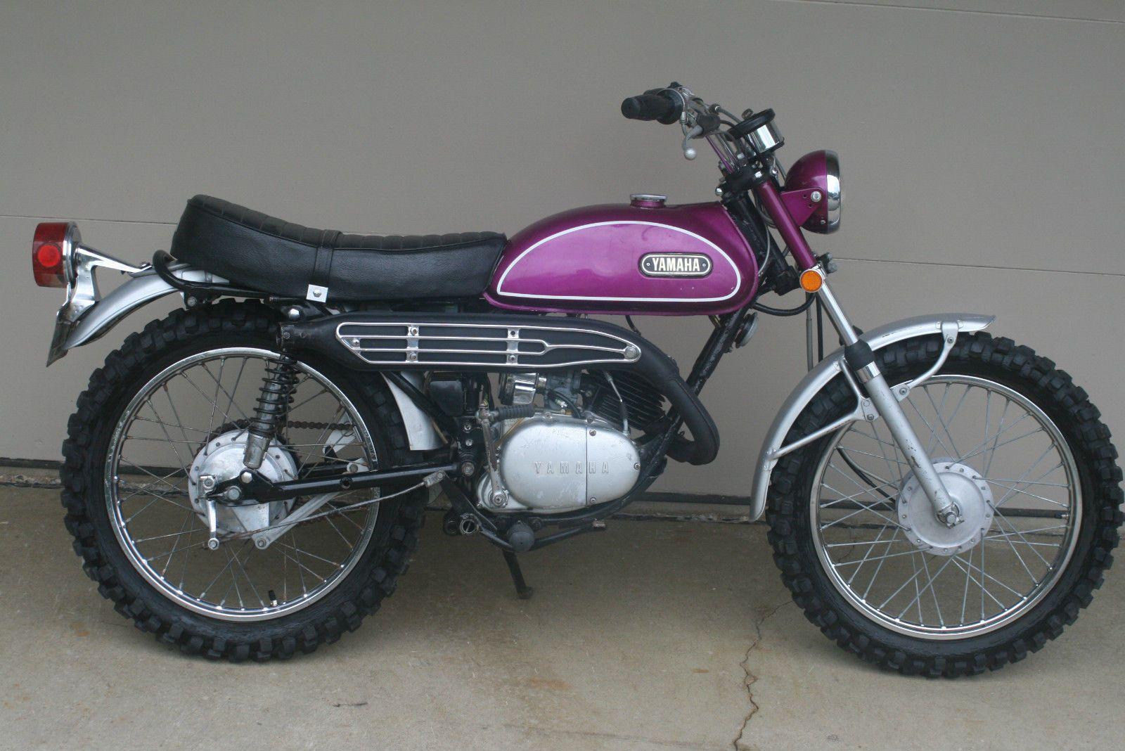 1970 Yamaha HT1 Enduro 90 Original Vintage Time Capsule Classic