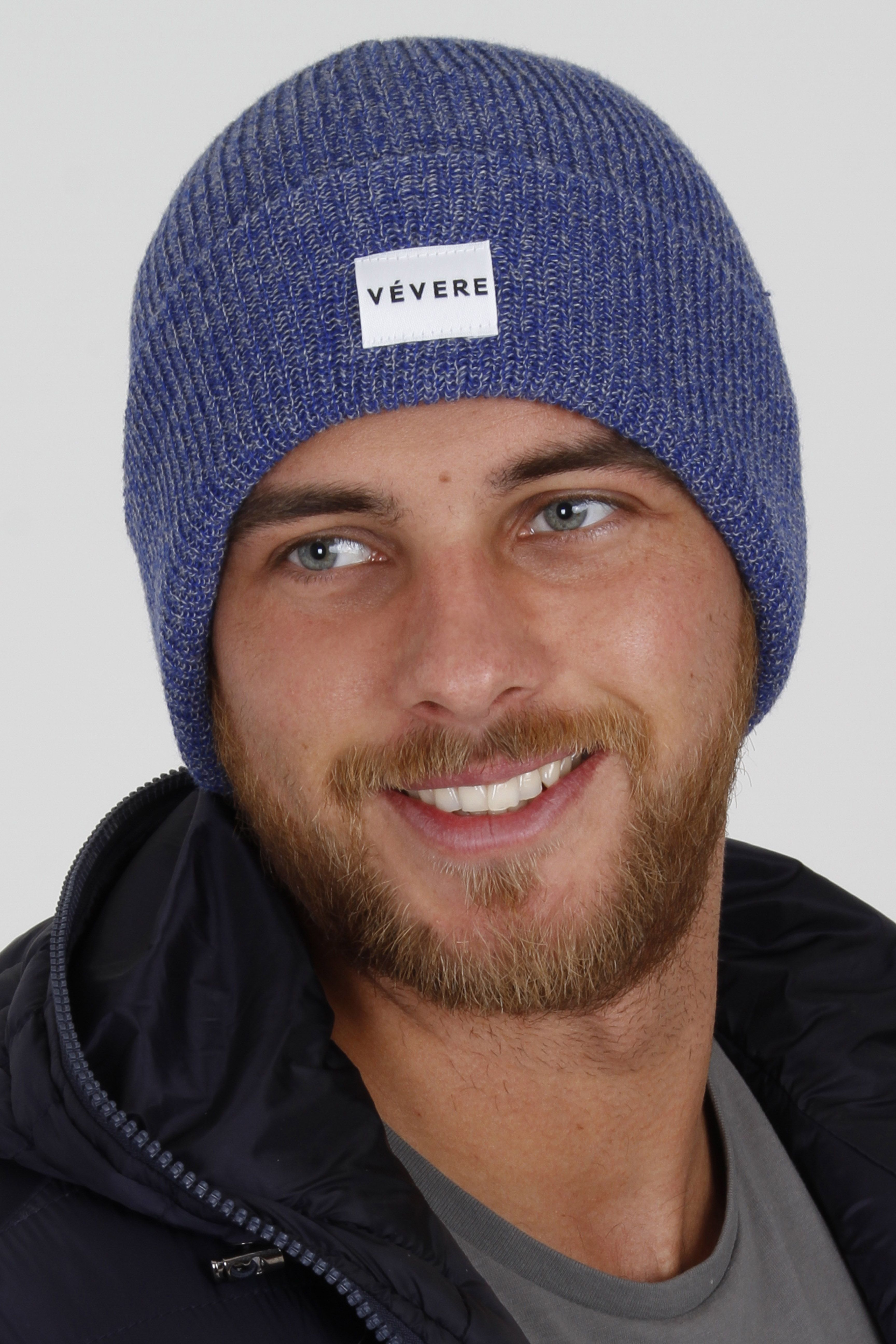 79e04ae4eb5 Vevere - Bruges Blue Beanie Hat