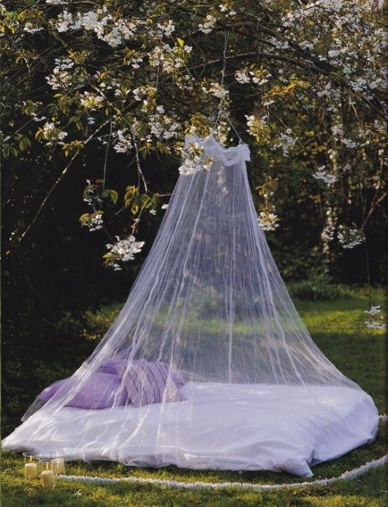 40 Awesome Mosquito Net Ideas For Outdoors : Feminine