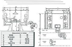 Restaurant Bench Seating Dimensions Metric Google Search