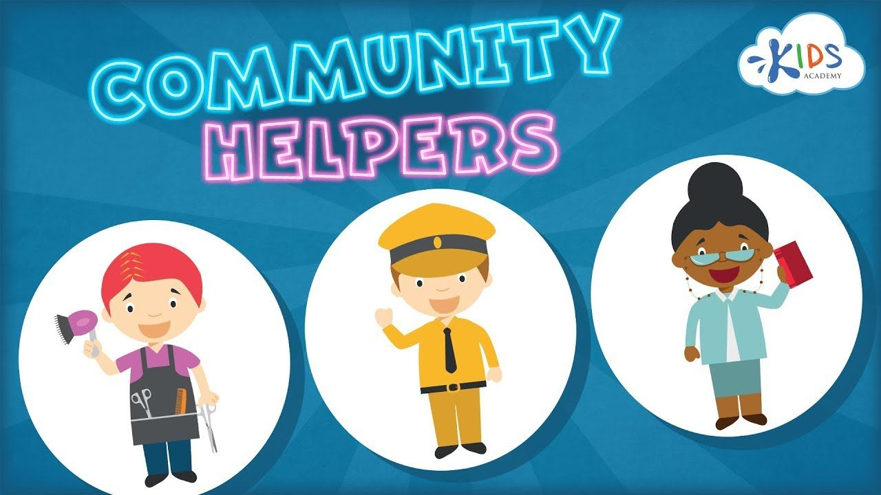 Community Helpers For Kids Jobs Occupations For Toddlers Preschool Community Teacher Kindergarten Kids Community Helpers Preschool Community Helpers