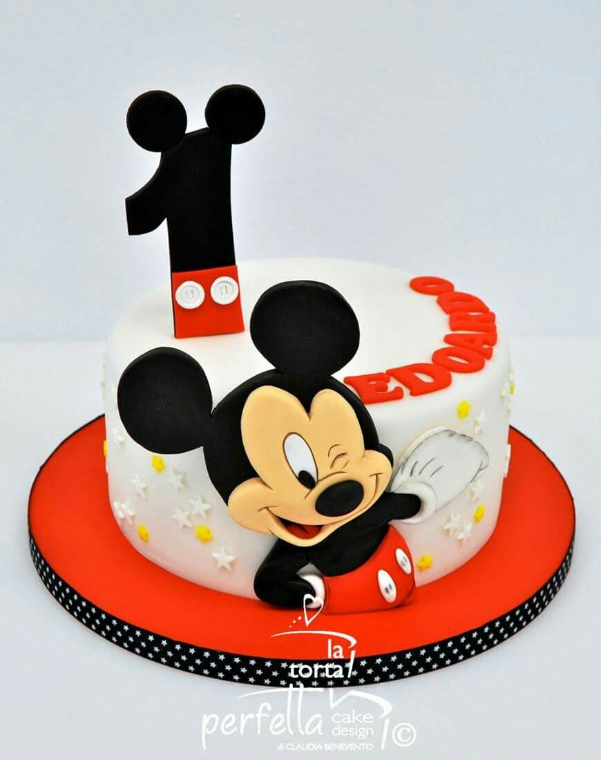 This One 2nd Birthday Pinterest Mickey Mouse Cake Mickey