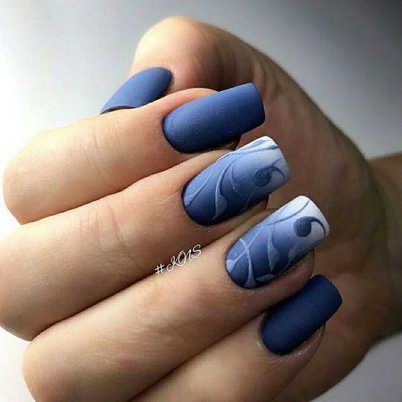 Decoración de uñas especiales para ocasiones elegantes . Uñas ...