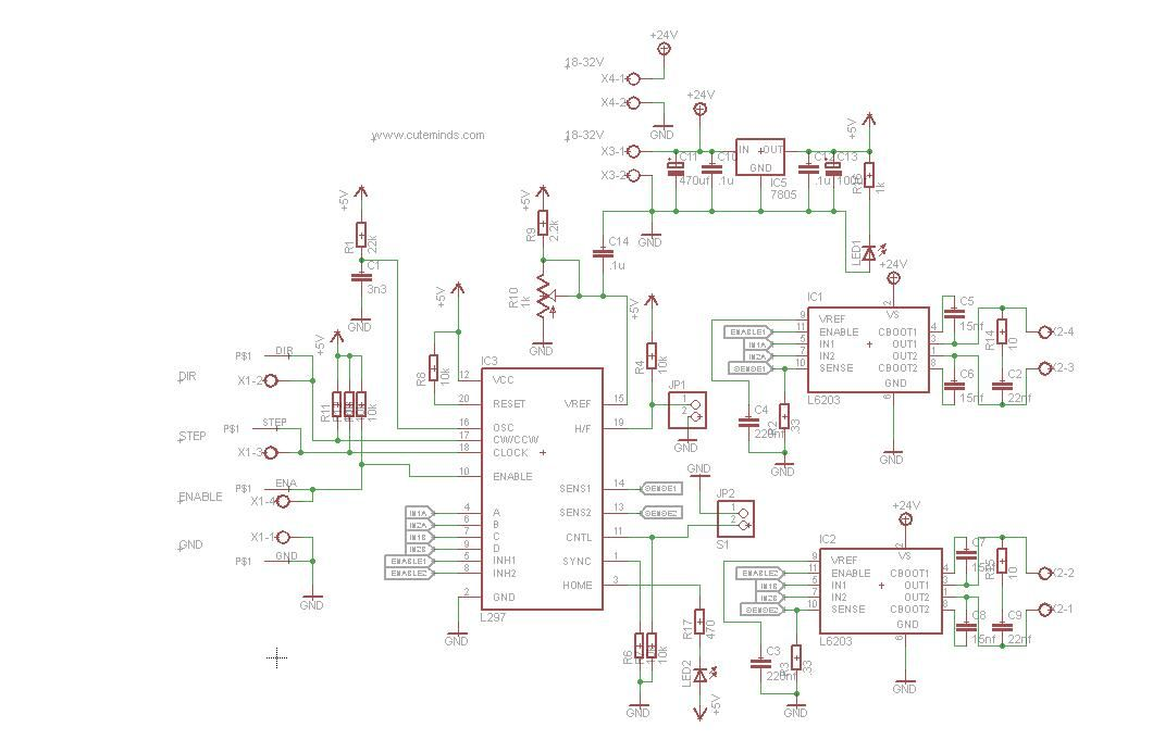 Carte De Commande 3axes Lectronique Pratique 372