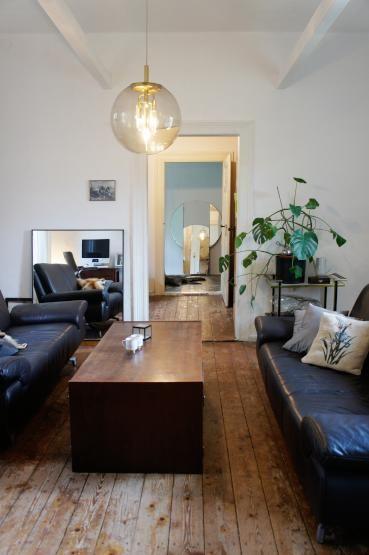 Altbauwohnung mit Stil #HalleanderSaale #Wohnzimmer interiors - holzdielen in der küche