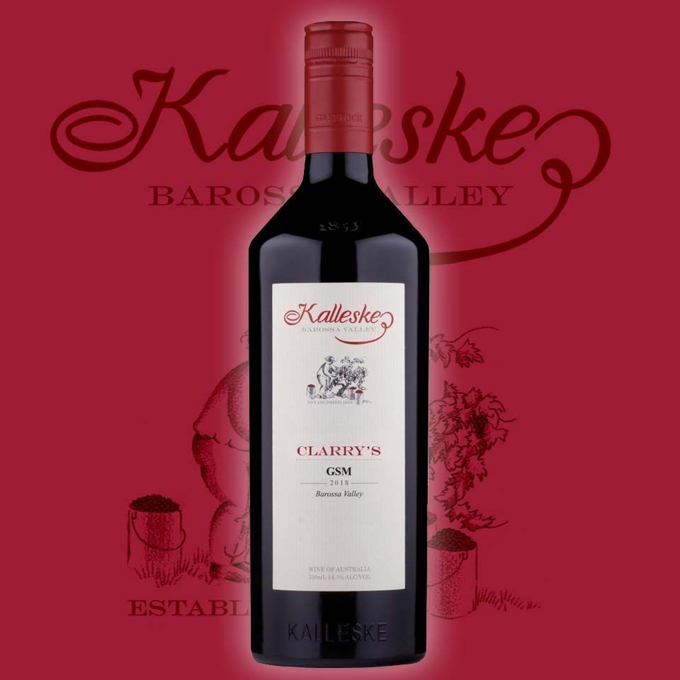 2018 Kalleske Clarry S Gsm Wine Club Gift Red Fruit Wine