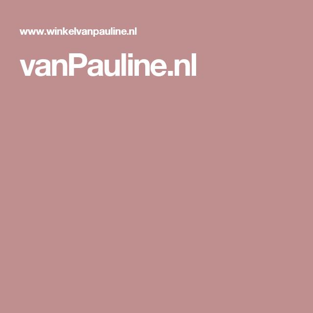 vanPauline.nl
