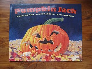 Book and pumpkin decay