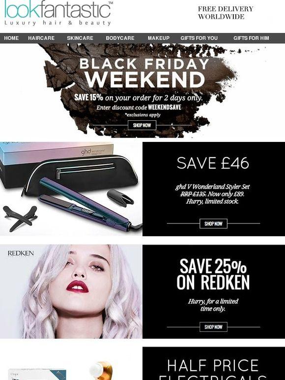 Last Chance To Bag A Black Friday Weekend Bargain Plus New Ghd Wonderland Price Drop Black Friday Beauty Deals Black Friday Beauty Black Friday Weekend