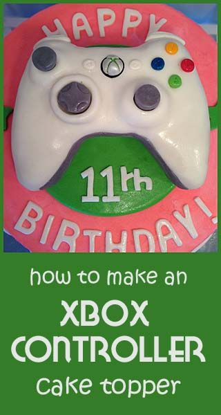 how to make an X-Box Cake | < Little Delights Tutorials