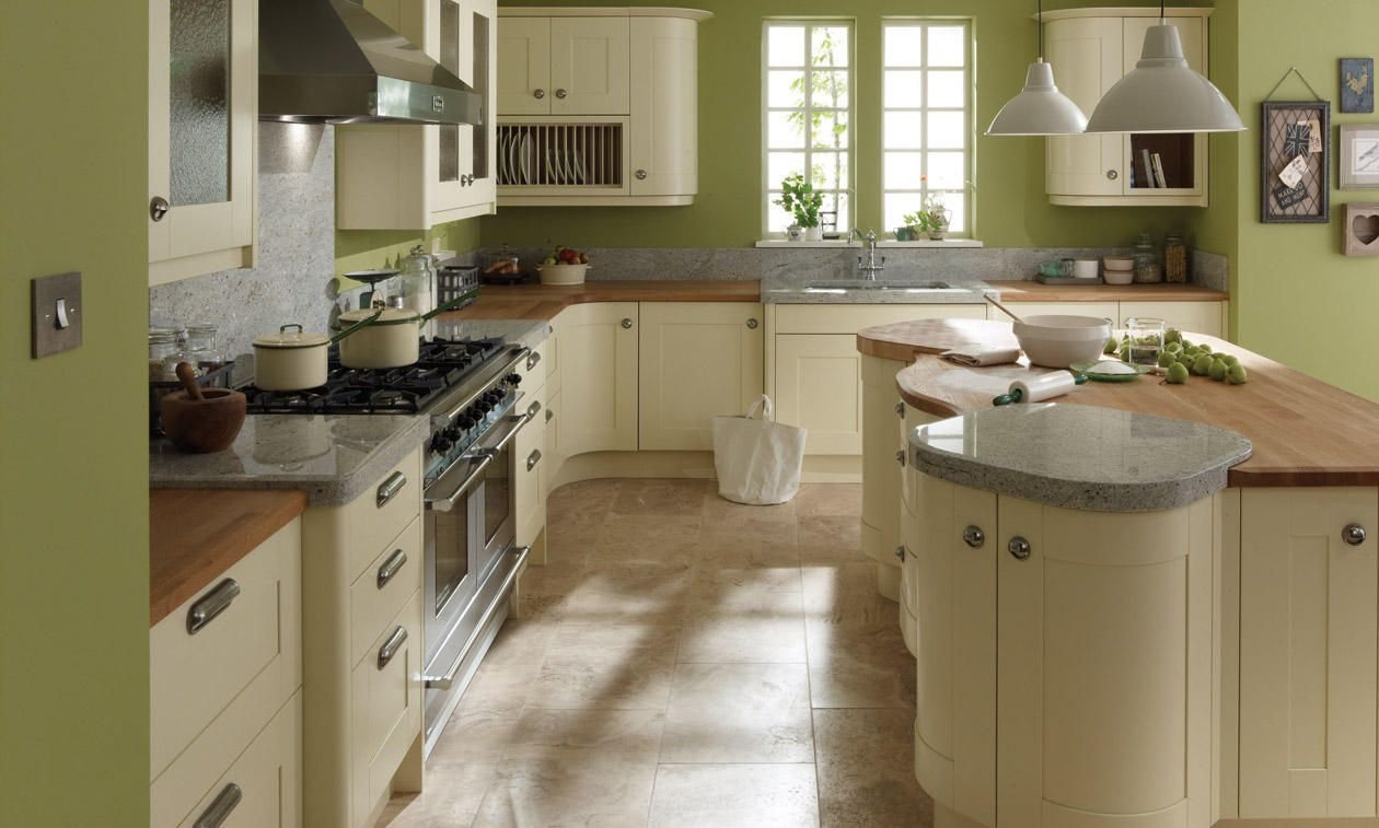 Pws Second Nature Broadoak Painted Green Kitchen Designs Kitchen Design Modern Kitchen Design