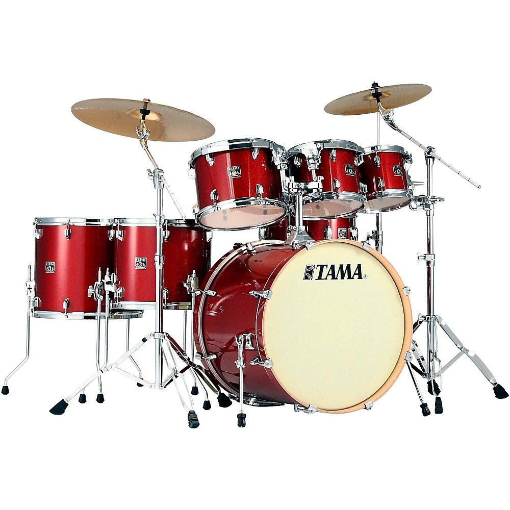 Tama Superstar Classic 7 Piece Shell Pack Tama Drums Drum Set