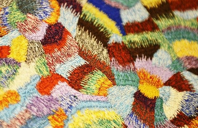 Dries Van Noten Prints - Print of an embroidery