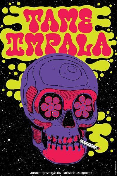 Tame Impala Poster  Tame Impala Art Print  Tame Impala Music Band