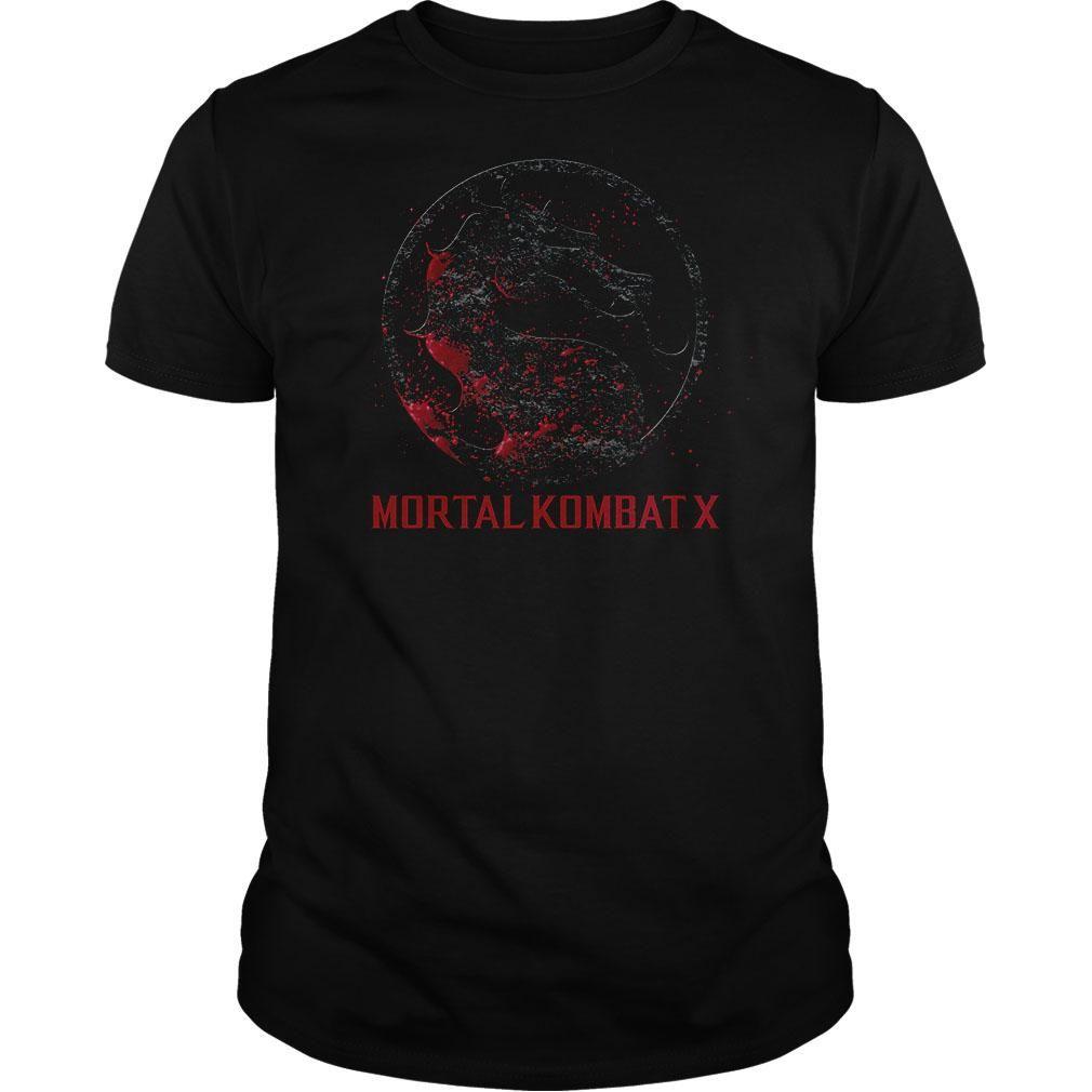 Mortal Kombat X Bloody Logo  T Shirt, Hoodie, Sweatshirt. Check price ==► http://www.sunshirts.xyz/?p=139999