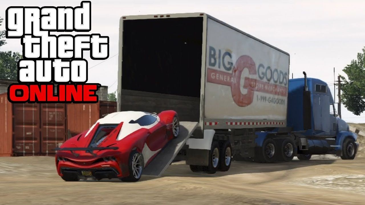 Gta 5 online hauling cars in semi trucks how to transport cars in a