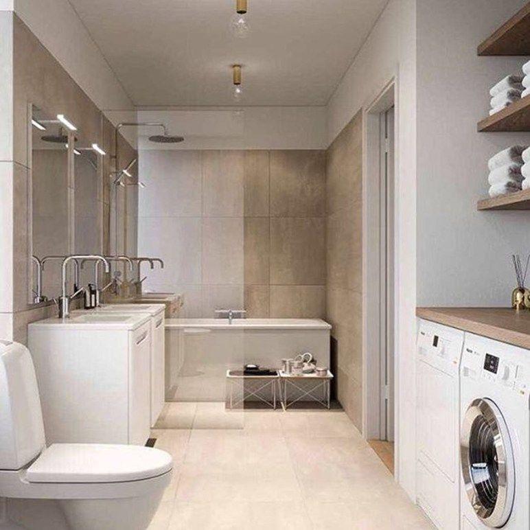 42 Beautiful Scandinavian Laundry Room Design Ideas Trendehouse Laundry Room Bathroom Laundry In Bathroom Bath Laundry Combo
